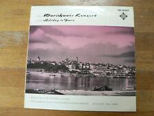 LP RECORD VINYL 10 INCH WARSCHAUER KONZERT HOLIDAY IN PARIS TELEFUNKEN STECH