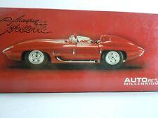AUTOart 1959 Experimental Corvette Stingray Concept Car 1:18 Scale NIB