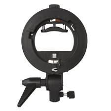 Neewer S-Type Bracket Holder with Bowens Mount for Speedlite Flash Snoot Softbox