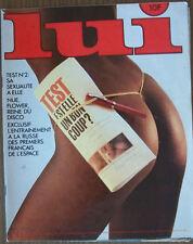 MAGAZINE MASCULIN DE CHARME « LUI n° 222 JUILLET 1982»
