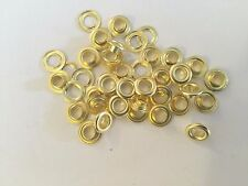 "#1 (5/16"" ) 100 Solid Brass Self Piercing Grommets & Washers 100 Pair"