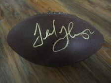 TED THOMPSON SIGNED GREEN BAY PACKERS NFL FOOTBALL COA RARE! AUTOGRAPHED