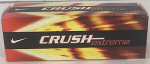 Nike Crush Extreme 1 Box of 3 Golf Balls