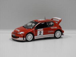 1:43 Peugeot 206 WRC - 2003 Rallye De Monte Carlo (R.Burns/R.Reid) #2 Unknown Do