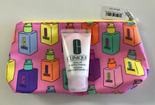 Clinique Rinse off Foaming Cleanser Mousse 1.7oz/50ml W Make-Up Bag!