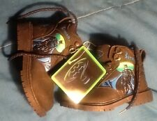 Batman Forever Childs Hiking Boots size 9 MINT 1995 ACI Iinternational