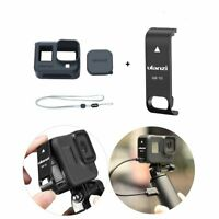 Protective Case+Removable Battery Lid Door Cover For GoPro Hero8 Black Camera