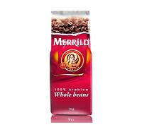 MERRILD Denmark Whole Coffee Beans Medium Roast Arabica 1kg 35oz