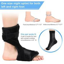Night Foot Drop Orthosis With Sock Brace Splint Plantar Fasciitis Ankle Achilles