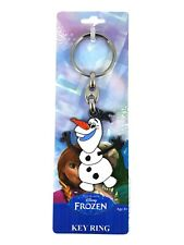 Disney Frozen Olaf Die Cast Metal & Acrylic Keyring Bag Charm Licensed & Carded