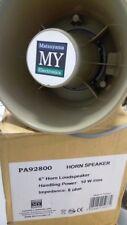 """HORN SPEAKER MATSUYAMA 6"""" , 10W/rms 8 ohm MOD. PA82900 CORPO ABS, WATERPROOF"""