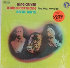 King Oliver  Louis Armstrong  Bessie Smith The Blues Heritage US LP 7104