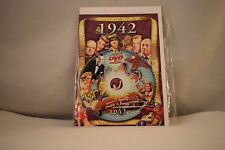 Flickback Greeting or Birthday Card With DVD  For Those Born in 1942    (v417)