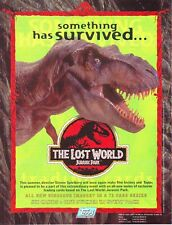"""JURASSIC PARK """" THE LOST WORLD """" COLLECTION BY TOPPS 1997"""