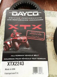 New 4 Dayco Xtx All-terrain Vehicle Belt Made In Usa