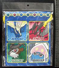 Pokemon XY Dice Bag (M) Xerneas Yveltal and Friends Pokemon Center 22 x 19 cm