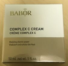 BABOR Complex C Cream  50ml   New In Box  $84  New Packaging