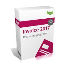 Limtax® Invoice 2017 - Rechnungsprogramm (Angebote Rechnungen Gutschriften lqpl)