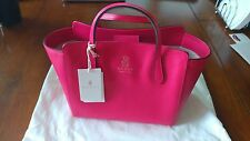 Hot Pink Gucci Leather Hand Bag