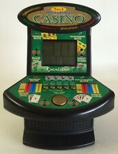 Deluxe 5 in 1 Virtual Casino Mini Arcade Machine. 5 casino games