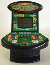Deluxe 5 in 1 Virtual Casino Mini Arcade Machine. 5 casino games