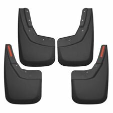 Husky Liners 56886 Front & Rear Mud Flaps Black For 2014-17 Chevrolet Silverado