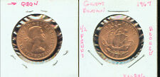 WORLD COINS GREAT BRITAIN 1967 HALF PENNY (G796)