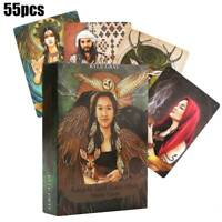 Angels And Ancestors Board Game Tarot Oracle Cards: A 55-Card Deck Party Gifts