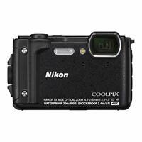 Nikon Digital Camera COOLPIX W300 BK Black Waterproof W300BK EMS w/ Tracking NEW