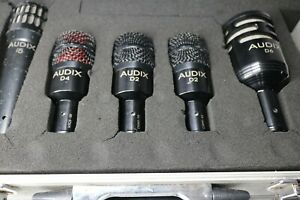 Audix D6  Drum mics Hyper Cardioid Microphone's used good working order & case