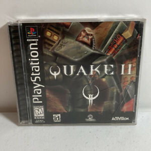 Quake II 2 Sony PlayStation 1 PS1 Complete CIB Tested Authentic Black Label