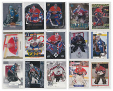 Patrick Roy Inserts Parallels SP Base - Choose From List - Avalanche Canadiens