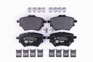 Hella Pagid Rear Brake Pads fits Peugeot 308 308 1.2 THP 130 2.0 BlueHDi 150