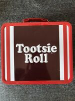 2010 Tootsie Roll Tin Lunchbox Loungefly Metal Lunch Box Pail