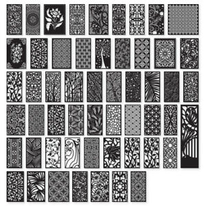 +50 ITEMS - DXF Of PLASMA Laser Cut - CNC - Vector DXF - CDR - EPS - AI Art File