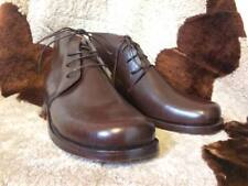 Civil War Brogan Shoes Full Grain BROWN Men's 6 EE Women's 7.5