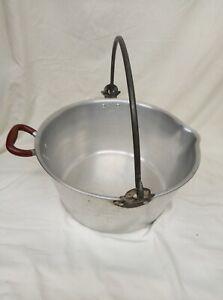 Swan Jam Pan Preserving Pan / Preserve Pot with Handle & Pouring Lip
