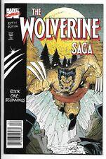 Wolverine Saga #1 (September 1989, Marvel Comics)