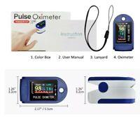 Pulsossimetro da Dito, Saturimetro da Dito Portatile Professionale, 4 direzioni