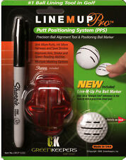 New Line M Up PRO Golf Ball Marker Alignment Putt like the Pros