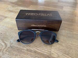 Wood Fellas Sonnenbrille Braun NEU