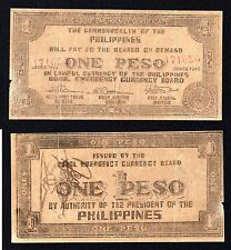 1 peso Commonwealth of the Philippines 1943