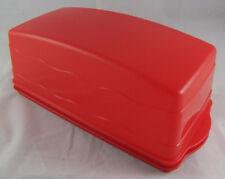 Tupperware J 29 Junge Welle Kastenkuchenbehälter Kuchenbehälter Rot Neu OVP