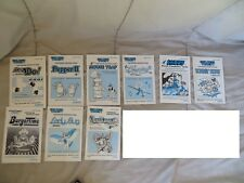 Lot of (13) Misc. Lot Vintage Coleco Vision Game Instruction Manuals ONLY!!