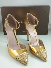 GUCCI DAMEN PUMPS GOLD GR. 38,5 | 370801