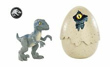 Jurassic World Hatch 'n Play Dinos Velociraptor Blue