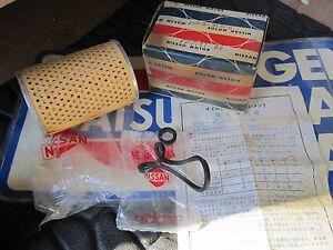 Datsun 61-63 312 Bluebird NOS Oil Filter Element  15208-31325