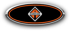 Ford F250/F350 1995-1996 International Custom Overlay Logo Sticker Decals GRILLE
