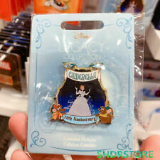 Disney LEGACY Pin 2020 cinderella 70th anniversary Disney store limited release