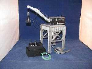 LIONEL M.O.W. MAGNETIC GANTRY CRANE TMCC EQUIPED # 24206 WITH BOX